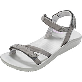 Columbia Big Water sandaalit Naiset, titanium mhw/white